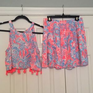 Lilly Pulitzer Selena Two Piece Set - 4